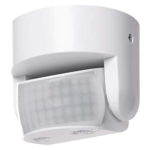EMOS G1240 Infrarot-Bewegungsmelder IP65 für Innen und Außen, Arbeitsfeld 180°, 12m Reichweite,...