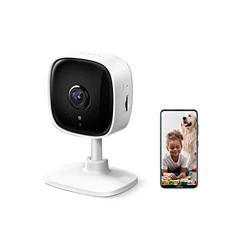 TP-Link Tapo C100 WLAN IP Kamera Überwachungskamera innen (1080p-Auflösung, 2 Wege Audio, 9m...
