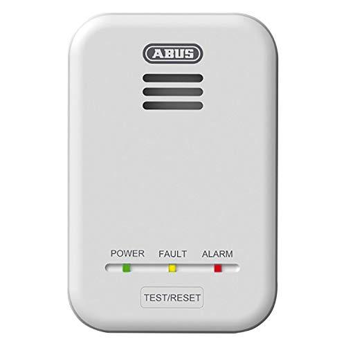 ABUS Gasmelder GWM100ME für Gasthermen - Erdgas (Methan) / Stadtgas - Alarmlautstärke 85 dB -...