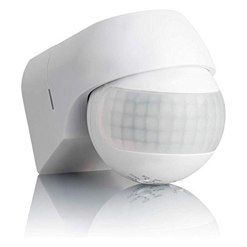 SEBSON® Bewegungsmelder Aussen IP44, Aufputz, Wand Montage, programmierbar, Infrarot Sensor,...