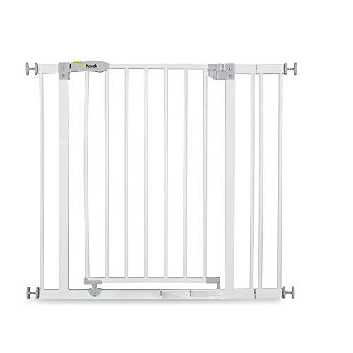Hauck Türschutzgitter / Treppenschutzgitter für Kinder Open N Stop Safety Gate inkl. 9 cm...