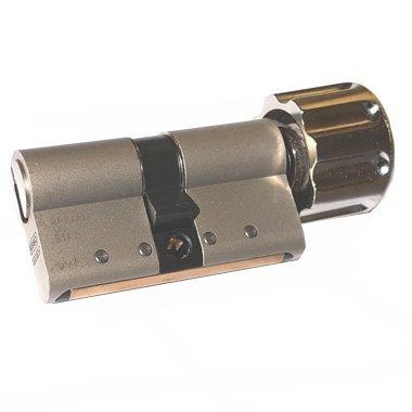Keso 8000 Omega² Drehknaufzylinder 81.B19 Basic plus Außen 30mm - Innen 30mm 6 Langschlüssel