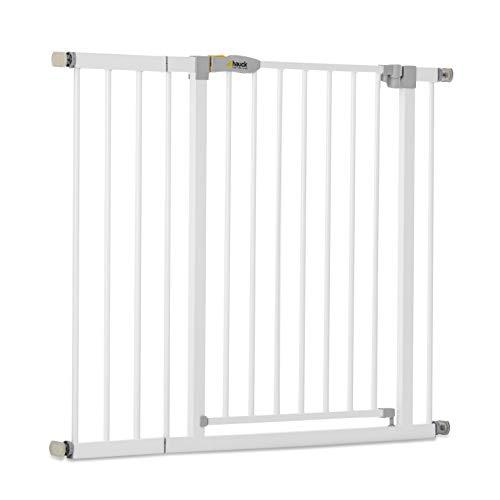 Hauck Türschutzgitter / Treppenschutzgitter für Kinder Open N Stop Safety Gate inkl. 21 cm...