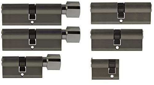 Set6 6x Zylinderschloss gleichschließend verschiedene Größen 1x40mm 1x70mm 1x90mm/1x70mm 2x90mm...