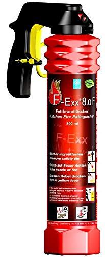 F-Exx 8.0 F - Der Feuerlöscher für Küche und Zuhause (Made in Germany)