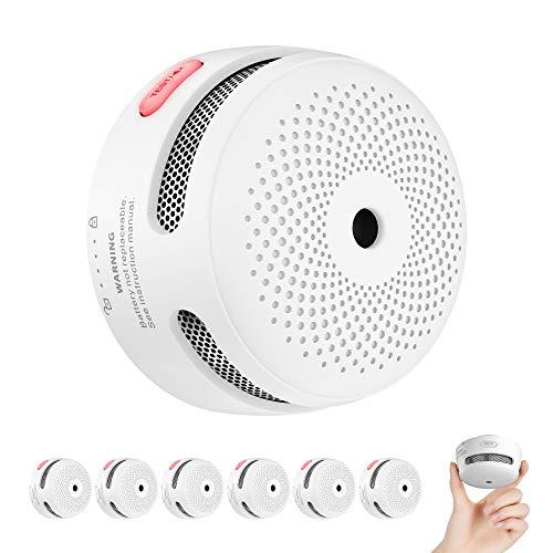 X-Sense Rauchmelder Mini Feuermelder mit 10 Jahren Batterielaufzeit, TÜV und EN14604 Zertifizierter...
