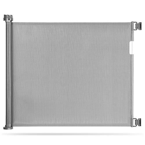 Momcozy Türschutzgitter Treppenschutzgitter Roll, 0-140cm Einziehbares Tür- und...