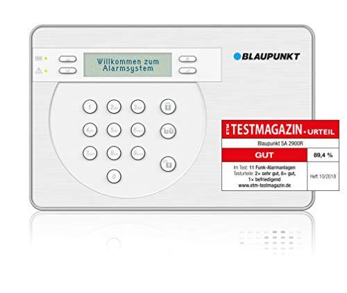 Blaupunkt SA 2900R Smart GSM Funk-Alarmanlage, Funk-Sicherheitssystem Set mit Bewegungsmelder,...