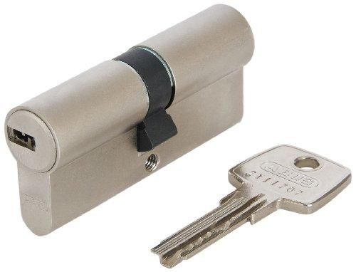 ABUS Profil-Zylinder D6XNP 30/40 mit Codekarte und 5 Schlüsseln, 48299