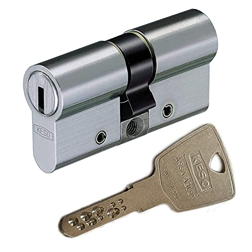 KESO 2500FP Doppelzylinder mit Not- und Gefahrenfunktion 30/35 inkl. 5 Schlüssel -...