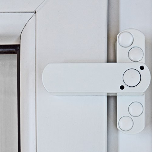 5 x Bever Stuco Safe Fenstersicherung, 1-flügelig, weiß, 20SW