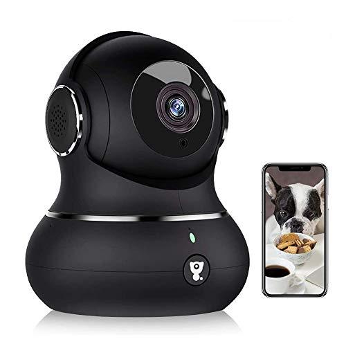 1080P Überwachungskamera, Littlelf WLAN Kamera mit Bewegungserkennung, Nachtsicht, Zwei-Wege-Audio,...