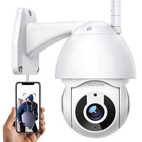 Überwachungskamera Aussen Victure 2.4G WLAN IP Kamera mit 1080P Nachtsicht für die Sicherheit zu...