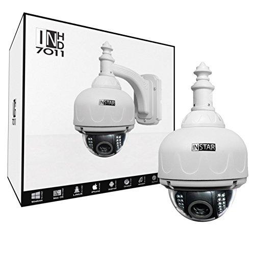 Instar steuerbare HD WLAN IP Kamera für den Außenbereich IN-7011HD (WDR Bildsensor, 1 Megapixel,...