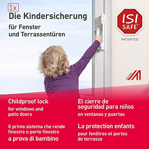 Fenstergriff Kindersicherung ohne Bohren