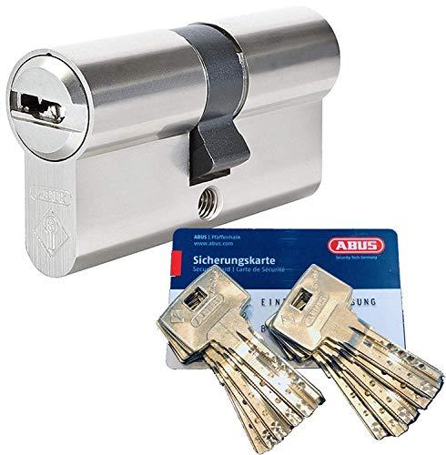 ABUS Bravus.2000 Sicherheits - Doppelzylinder mit 10 Schlüssel, Länge (a/b) 30/30mm (c= 60mm) mit...