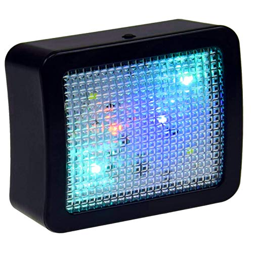 TV Simulator Imitator, simuliert einen Fernseher mit zufälligen Lichteffekten als Einbruchschutz...