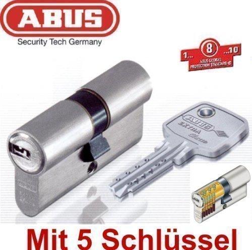 ABUS EC750 Extra Classe Profil-Doppelzylinder Länge 40/60mm mit 5 Schlüssel